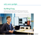 Appeared in Early Career Spotlight in IGACnews
